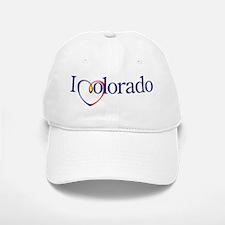 I Heart Colorado Baseball Baseball Cap