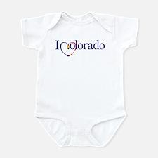 I Heart Colorado Infant Bodysuit