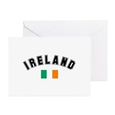 Irish Flag Greeting Cards (Pk of 10)