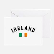 Irish Flag Greeting Cards (Pk of 10)