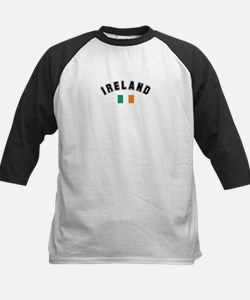 Irish Flag Kids Baseball Jersey