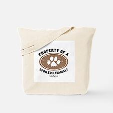 Havamalt dog Tote Bag