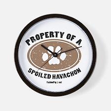 Havachon  dog Wall Clock