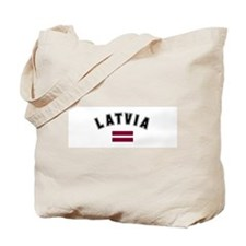 Latvian Flag Tote Bag