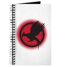 Catching Fire Mockingjay Red and Black Journal