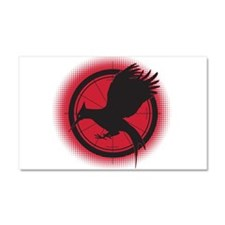 Catching Fire Mockingjay Red and Black Car Magnet