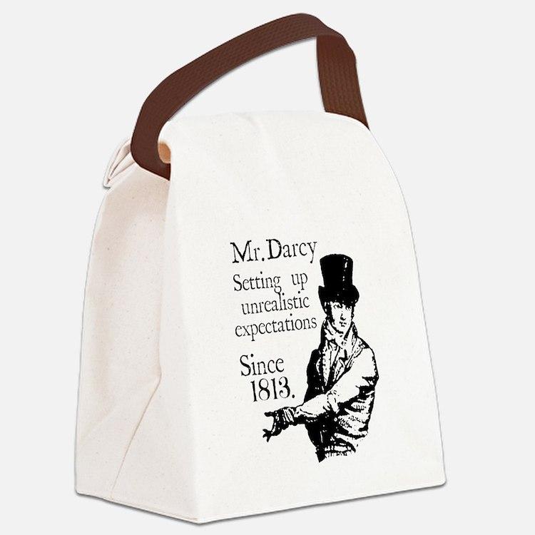Cute Colin firth Canvas Lunch Bag
