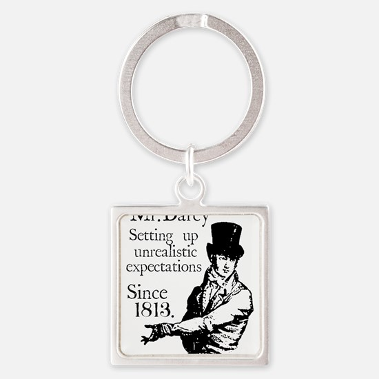 Funny Jane Square Keychain