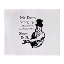 Cute Pride and prejudice Throw Blanket