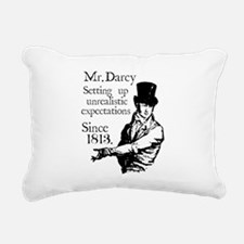 Cute Jane austen Rectangular Canvas Pillow
