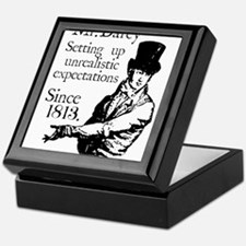 Funny Pride and prejudice Keepsake Box