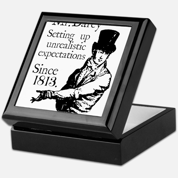 Cute Colin firth Keepsake Box