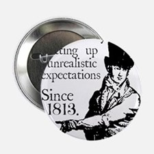 "Cute Jane austen 2.25"" Button"