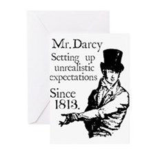 Cute Mr. darcy Greeting Cards (Pk of 10)