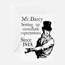 Mr. Darcy Greeting Cards