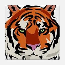 Tiger (Face) Tile Coaster