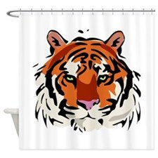 Tiger (Face) Shower Curtain