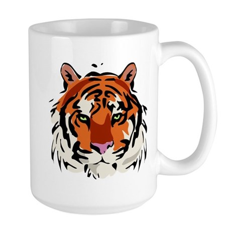 Tiger (Face) Large Mug