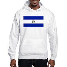 El Salvador flag Hoodie Sweatshirt