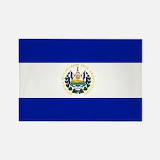 El Salvador flag Rectangle Magnet