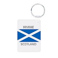 Irvine Scotland Aluminum Photo Keychain