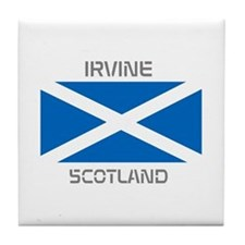 Irvine Scotland Tile Coaster