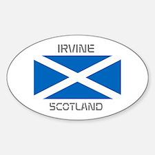 Irvine Scotland Sticker (Oval)
