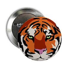 """Tiger (Face) 2.25"""" Button"""