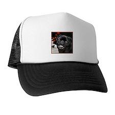 Christmas pug dog Trucker Hat