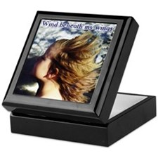 Wind beneath my wings Keepsake Box