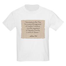 Kids T-Shirt: Necessity-Pitt
