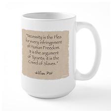 Large Mug: Necessity-Pitt