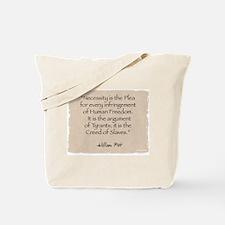 Tote Bag: Necessity-Pitt