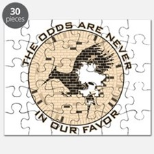 Catching Fire Brick Wall Odds Puzzle