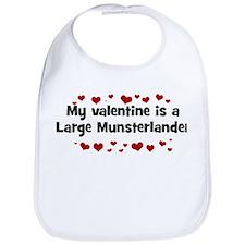 Large Munsterlander valentine Bib