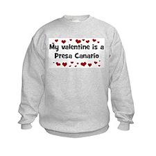 Presa Canario valentine Sweatshirt