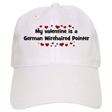 German Wirehaired Pointer val Baseball Cap