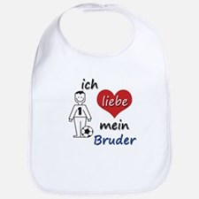 Ich liebe mein Bruder - in German. Translation: I