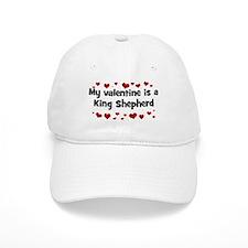 King Shepherd valentine Baseball Cap