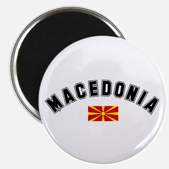 Macedonian Flag Magnet