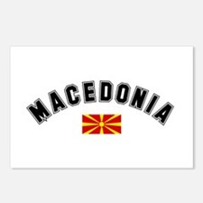 Macedonian Flag Postcards (Package of 8)