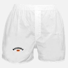 Macedonian Flag Boxer Shorts