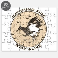 Catching Fire Brick Wall Stay Alive Puzzle