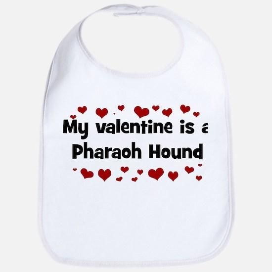 Pharaoh Hound valentine Bib