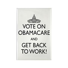 Government Shutdown Get Back To Work Magnets