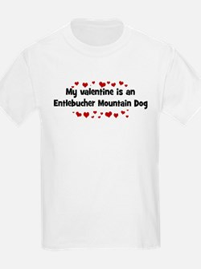 Entlebucher Mountain Dog vale Kids T-Shirt