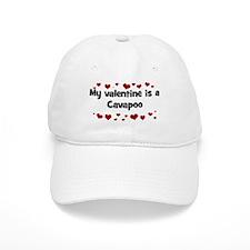 Cavapoo valentine Baseball Cap