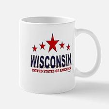 Wisconsin U.S.A. Mug