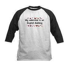 English Bulldog valentine Tee