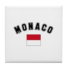 Monaco Flag Tile Coaster